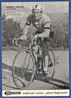 CPSM CYCLISME - DURANTE ADRIANO - G. S. Salvarani 1966 - Avec Autographe - Radsport