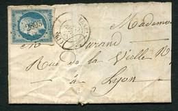FRANCE ( OBLITERATION LOSANGE ) PC  2893  Seyssel  Ain (1) , A SAISIR .fra - 1849-1876: Periodo Classico