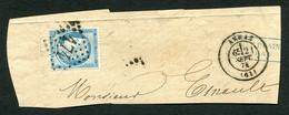 FRANCE ( OBLITERATION LOSANGE ) GC  174  Arras  Pas-de-Calais (61) , A SAISIR .fra - 1849-1876: Periodo Classico