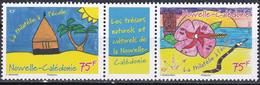 Nouvelle Calédonie TUC 2015 YT 1238-1239 Neuf - Nuovi