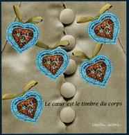 FRB Bloc 2001  N°33  Saint Valentin Coeur De Ch. Lacroix  . Société  ** MNH - Nuovi
