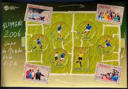 Bloc-feuillet YT N° 97 Coupe Du Monde De Football 2006. Neuf ** - Mint/Hinged