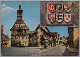 Künzelsau - Mehrbildkarte 1 - Kuenzelsau