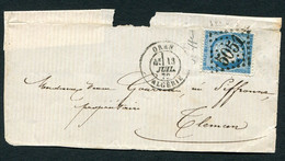 FRANCE ( OBLITERATION LOSANGE ) GC  5051  Oran (Oran)  , A SAISIR .fra - 1849-1876: Periodo Classico