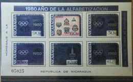 Olympische Spelen  1980 , Nicaragua - Blok  Postfris - Ete 1980: Moscou