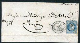 FRANCE ( OBLITERATION LOSANGE ) GC  87  Amplepuis  Rhone (68) , A SAISIR .fra - 1849-1876: Periodo Classico