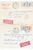 7 LETTRES EXPRES   TIMBRES ELSTRÖM - 1970-1980 Elström