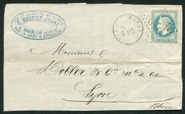 FRANCE ( OBLITERATION LOSANGE ) GC  2529  Moras Drôme (25)  , A SAISIR .fra - 1849-1876: Klassieke Periode
