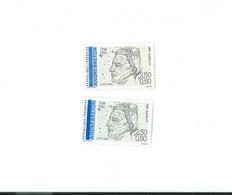 2682 A Bleu Foncé Absent - 1 Normal Livré - Curiosidades: 1990-99  Nuevos