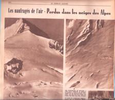 Aviation-Naufragés De L'Air-Dakota/US-Glacier Du Gauli-Wetterhorn-Aérodrome De Meiringen-Oberland Bernois-Suisse-1946 - 1900 - 1949