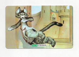Infostrada - Scheda Telefonica Favole - Il Gatto Con Gli Stivali - Lire 5.000 - Scadenza 31.12.2000 - Nuova - (FDC27233) - [2] Sim Cards, Prepaid & Refills