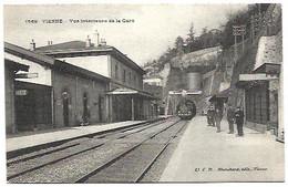 38 Vienne - Vue Intérieure De La Gare - Vienne