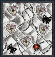 FRB Bloc 2004  N°66  Saint Valentin Coeurs De Karl Lagerfeld  ** MNH - Nuovi