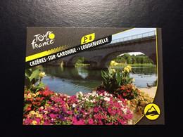 TOUR DE FRANCE 2020 - PANINI - No. T30 - CAZERES-SUR-GARONNE LOUDENVIELLE - French Edition