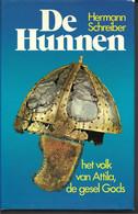 De Hunnen En Hun Heerser Attila, De Gesel Gods Hermann Schreiber 4 CM. DIK - Geschichte