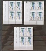 COINS DATES - TP N°4441 - 3 CDs (Sans Trait, 1 Trait, 2 Traits). Neuf ** - 2010-....