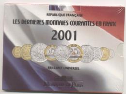 COFFRET 2001 MONNAIE BU FDC NEUF SOUS BLISTER D ORIGINE - Z. FDC