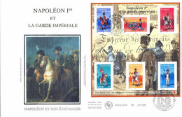 Enveloppe 1er Jour, Personnages Célèbres, Napoléon Et La Garde Impériale, 2004, (bf 72) - 2000-2009