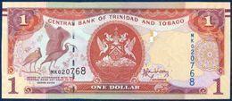 TRINIDAD AND TOBAGO 1 DOLLAR P-46A SIGNATURE: Jwala Rambarran BIRD - SCARLET IBIS CENTRAL BANK 2006 UNC - Trinité & Tobago