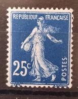 France/French Stamp 1907 N°140t Papier X   * TB - Ungebraucht