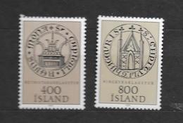 1982 MNH Iceland, Stamps From Block 4 - Ongebruikt
