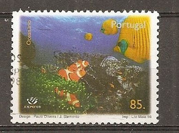Portugal 1998 Ocean With Fish Obl - Unclassified