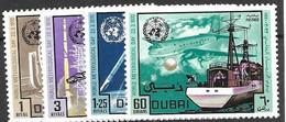Dubai Mnh **  Meterology Set 5 Euros 1970 - Dubai