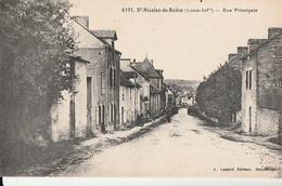 ST NICOLAS DE REDON - Rue Principale   Pas Courante . - Autres Communes