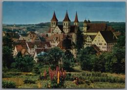 Ellwangen An Der Jagst - Blick Zur Stiftskirche 1 - Ellwangen