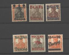 Danzig,26/31 I,xx,Höchswert Gep. - Danzig
