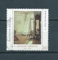 2012 West-Germany A.Menzel Art,kunst Used/gebruikt/oblitere - Gebruikt