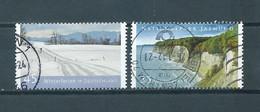 2012 West-Germany Complete Set Landscapes Used/gebruikt/oblitere - Gebruikt