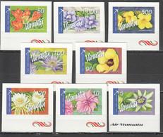 S1116 VANUATU FLORA FLOWERS !!! MICHEL 29 EURO !!! SELF-ADHESIVE #1294-301 1SET MNH - Other