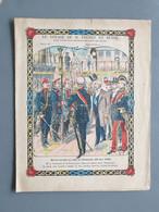 RUSSIE Voyage De M Loubet  Revue Navale Alexandre III (1902)  Protège-cahier Couverture 225 X170 - N°7 - Book Covers