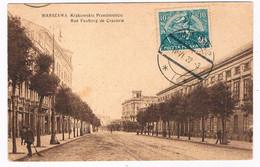 POL-196  WARSZAWA : Rue Fauborg De Cracovie - Pologne