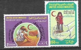 UAE Complete Set  Mnh **  1989  5 Euros - Emiratos Árabes Unidos