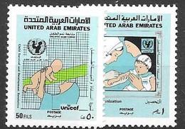 2 Scans UAE Complete Set  Mnh **  1987 6 Euros - Emiratos Árabes Unidos