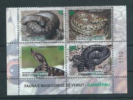 Macedonia 2020 - Fauna,Reptiles,Snakes MNH - Macedonia