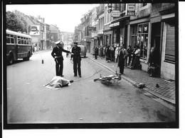 Liège - Sainte Marguerite - Accident De Moto - Photo: 12/9cm - 2 Scans. - Lüttich