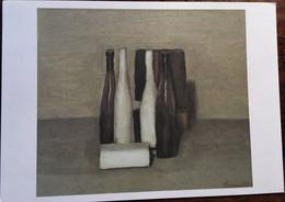 """Cpm, """"Nature Morte"""" De Giorgio Morandi,Musée Jenisch à Vevey (Suisse), éd  Paris Musées - Peintures & Tableaux"""