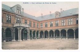 CPA Colorisée : NAMUR Cour Intérieure Du Palais De Justice - Namur