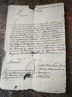 Chessiliane 1685: Lettre Dans Laquelle Il Est Question Des Prisonniers Huguenots à Grenoble. - Documenti Storici