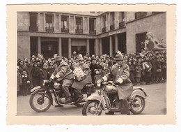 "MOTOCICLETTA - "" PUCH 250 TF "" - MOTORCYCLE PUCK  - FOTO ORIGINALE 1952 - Automobili"