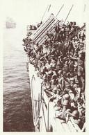 CARTE POSTALE 10CM/15CM : OMAHA BEACH LA 2ème D.B ARRIVE LE 06 JUIN 1944 LE DEBARQUEMENT EN FRANCE  CALVADOS (14) - Oorlog 1939-45