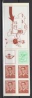 Belgique 1972. CA9 - B9 **, MNH. Cote COB 2020 : 5 € - Carnet 1953-....