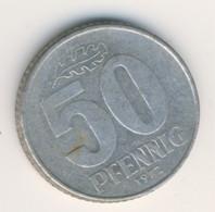 DDR 1972 A: 50 Pfennig, KM 12 - 50 Pfennig
