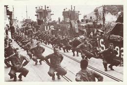 CARTE POSTALE 10CM/15CM : GRANDE BRETAGNE LE 05 JUIN 1944 PREPARATION AVANT LE DEBARQUEMENT EN FRANCE  CALVADOS (14) - Oorlog 1939-45