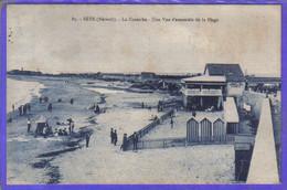 Carte Postale De Luxe 34. Sète (Cette) La Corniche   Très Beau Plan - Sete (Cette)