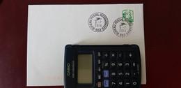 Fermeture Bureau Postal Militaire Bureau Postal Interarmées 663 8/7/2014 - Handstempels
