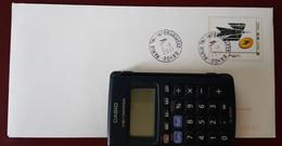 Fermeture Bureau Postal Militaire Bureau Postal Paris Tri Interarmées Cellule Marine 2/11/2011 Dernier Jour ? - Handstempels